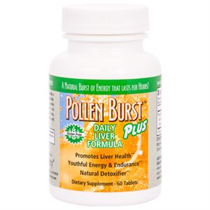 Picture of Pollen Burst™ Plus - Daily Liver Formula - 60 tablets